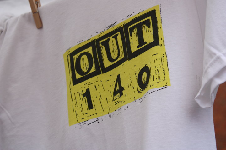 OUT140 tshirt
